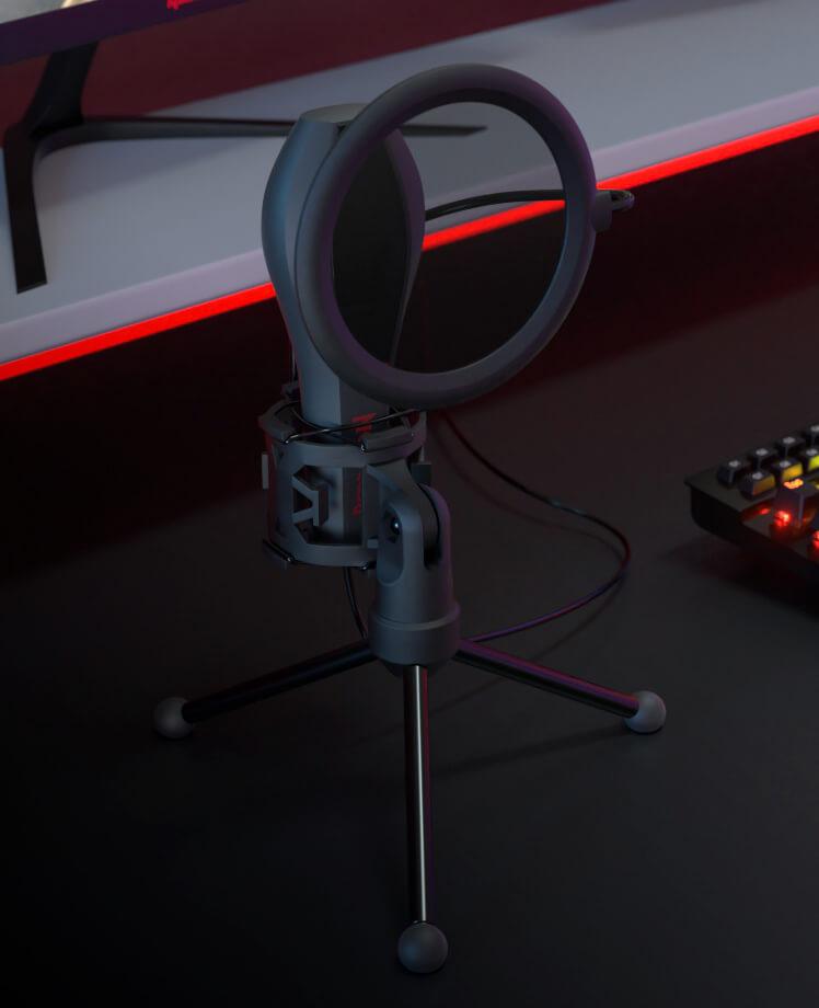 Micrófono streaming QUASAR GM200 | Redragon
